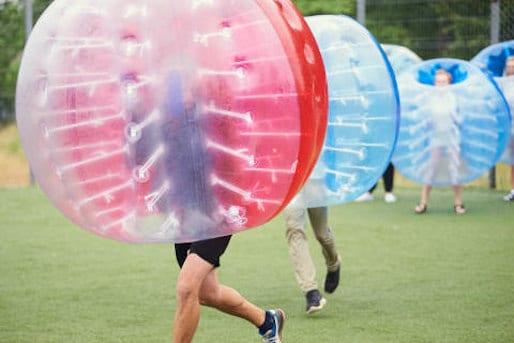 Bubble Ball Soccer Ball Spiel Heidelberg