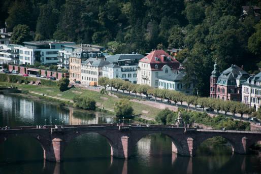 alte Brücke Heidelberg Sehenswürdigkeit