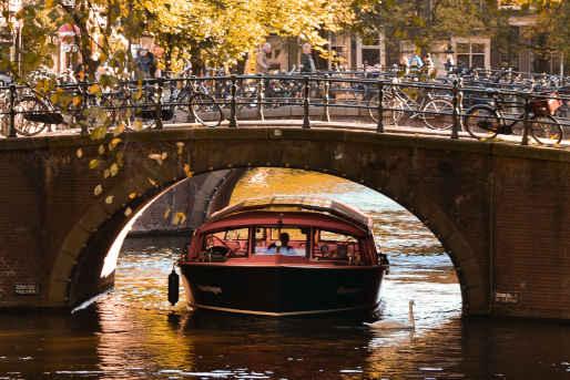 Bootsfahrt Amsterdam