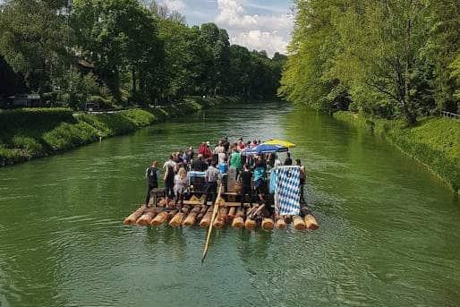 Floßfahrt Main Bayern