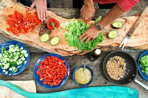 Kochkurs kochen Junggesellenabschied