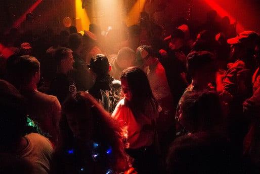 Nachtclub Party feiern JGA