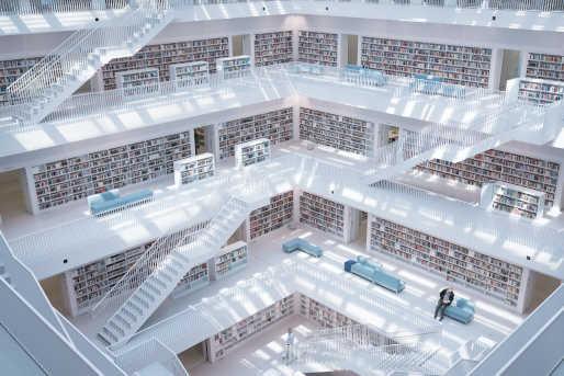 Stadtbibliothek Stuttgart Sehenswürdigkeit