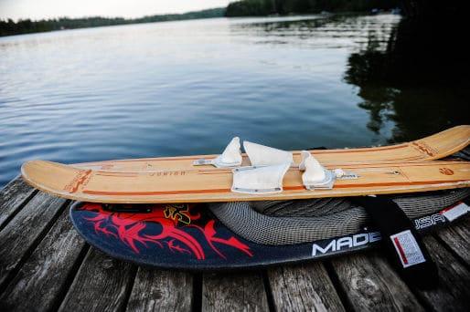 Wasserski water skiing gruppen