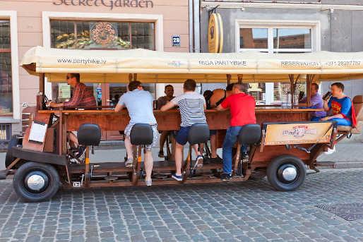 JGA Mainz Bierbike